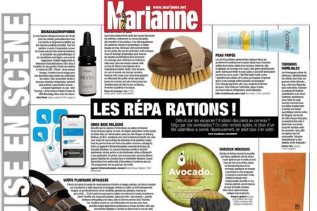 Marianne - article magazine - infusion vata - gingerly